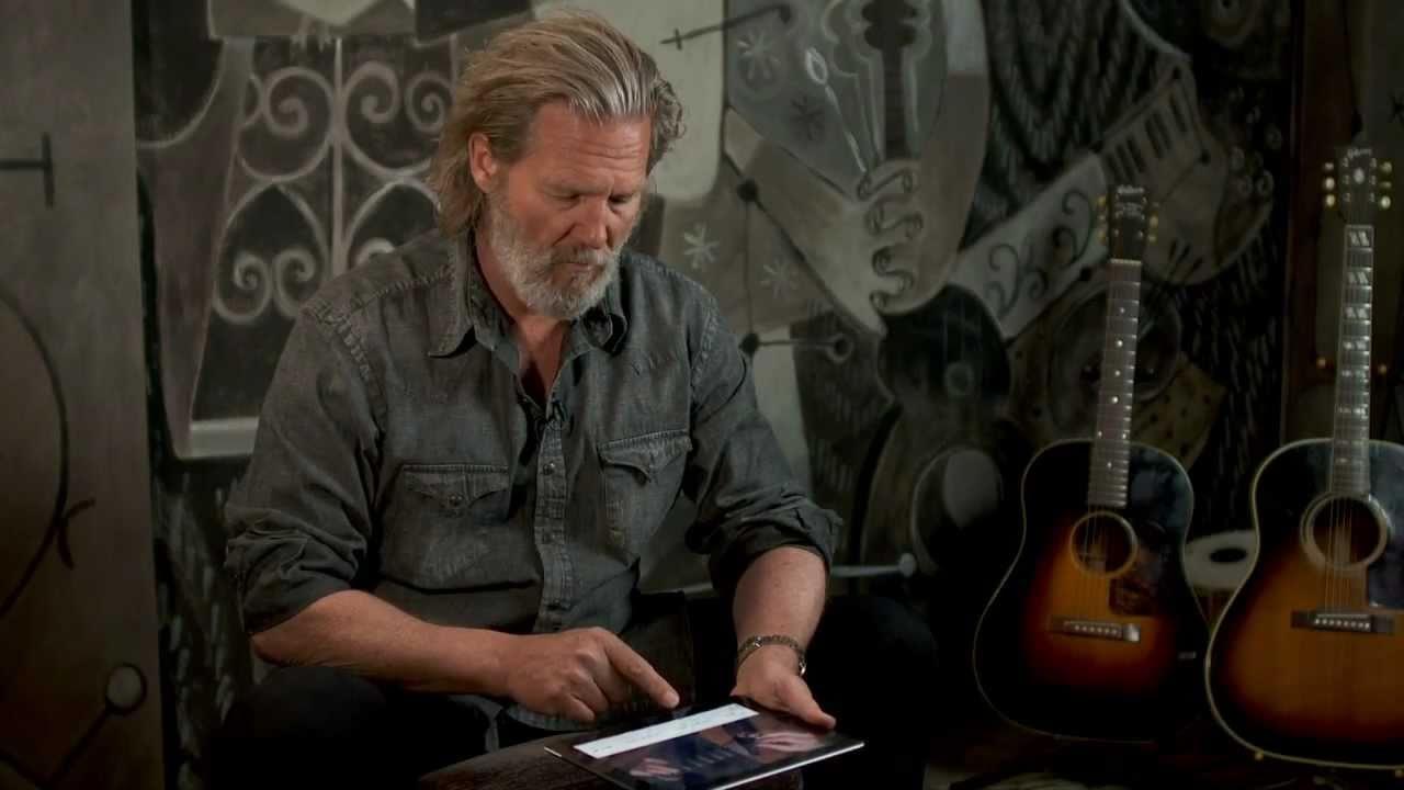 Jeff Bridges Demos On ...