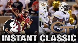 Instant Classic: FSU vs. Georgia Tech Full Game | 2015 ACC Football