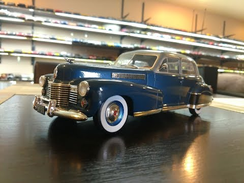 1:18 Diecast review of the 1941 Cadillac Fleetwood Series 60 by MCG