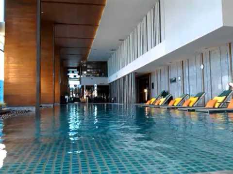 Renaissance Hotel Bangkok Swim At Indoor Pool Video1682