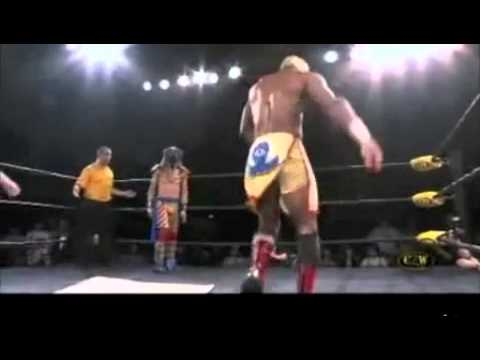 Wrestler Hypnotizes Opponents, Creating Dance Party