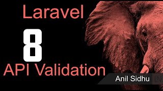 Laravel 8 Tutorial - API Validation