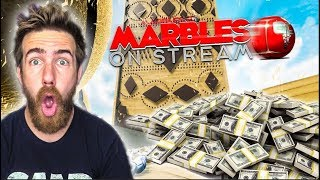 MARBLE RACING FOR MONEY!?  - Marbles On Stream