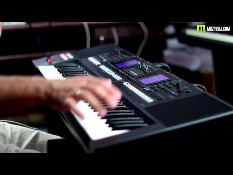 Roland E-A7 synths and Drums