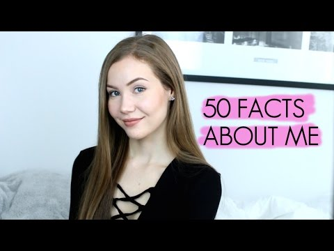 50 Facts About Me  Art by Michaela