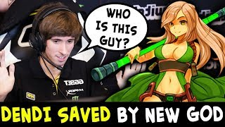 WHO IS HE? Dendi game saved by Earth Spirit GOD