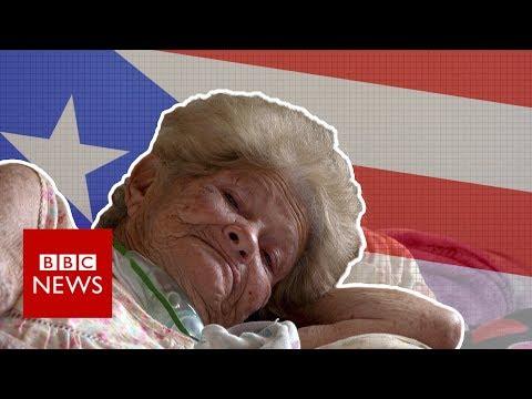 Puerto Rico still in the dark six months after hurricane - BBC News