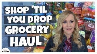 MARATHON SHOP with ME HAUL || Costco, Dollar Tree, Walmart, Trader Joe's + Party Supplies