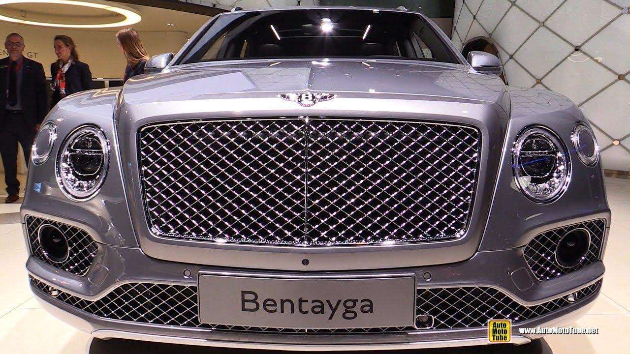 2018 Bentley Bentayga Exterior And Interior Walkaround 2017 Frankfurt Auto Show