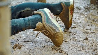 $600 Kicks VS Extreme Tough Mudder Challenge With Ryan Taylor - Crep Protect Cure