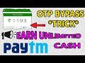 How to earn unlimited paytm cash from Taskbucks app || OTP bypass trick 2017