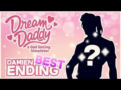 DAMIEN'S TRUE FORM!! (Damien Good Ending)   Dream Daddy: A Dad Dating Sim - Part 12