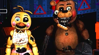 The Return To Abomination s Night 2 Withered Toy Animatronics