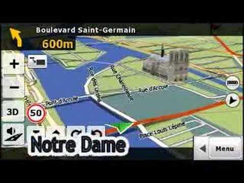Mio C620 New 3D Maps