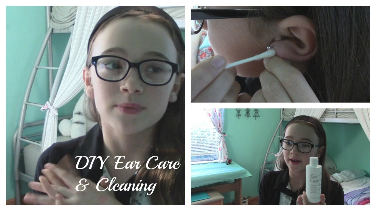 How To Clean Your Ears After Piercing Ear Care Cleaning