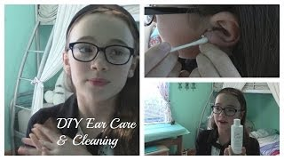 How to Clean Your Ears After Piercing | Ear Care & Cleaning | Fiona's Fresh Face | Fiona Frills