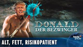 Donald Trump hat Corona – und verharmlost die Krankheit weiter