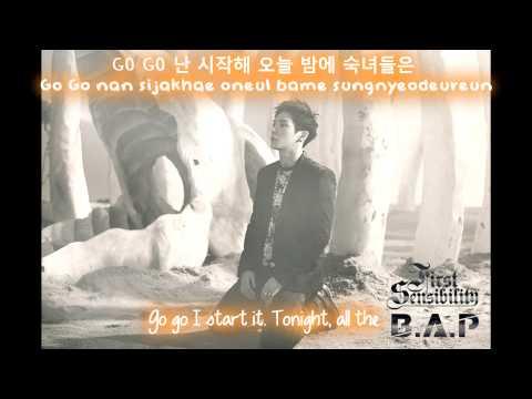 B.A.P - SPY [English Subs + Hangul + Romanization]