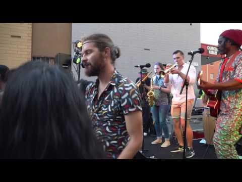 Organic Roots live at SANAA street festival