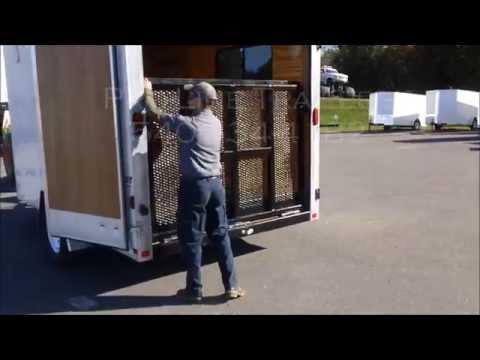 Cargo Trailer Ramp Door Conversion Race Ramp Supply