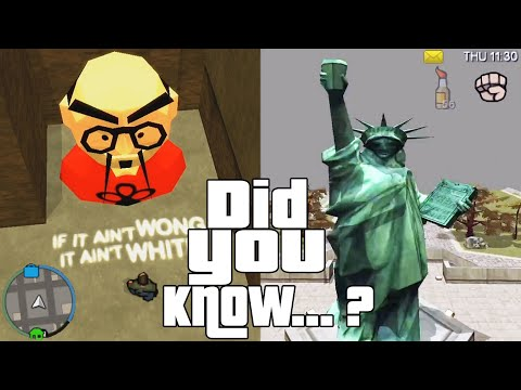 GTA Chinatown Wars Easter Eggs And Secrets