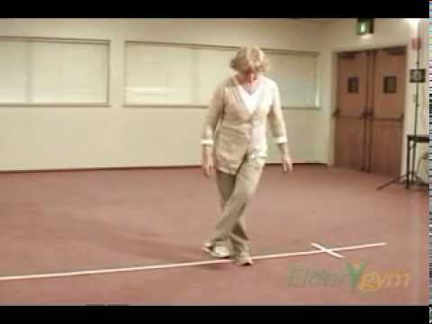 Balance exercises: Grapevine