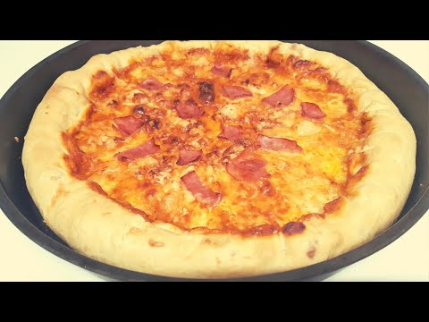 Como hacer Pizza con Bordes Rellenos de Queso 🧀