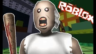 ESCAPE THE WICKED GRANNY AUNT!! ROBLOX Granny Escape
