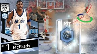 nba 2k17 my team diamond t mac tracy mcgrady debut ps4 pro 4k