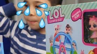 YİNE KANDIRILDIK!!! Sahte LOL Sürpriz Bebek Dönme Dolap Oyun Parkı Fake Çinden Lol Bidünya Oyuncak