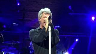 "Bon Jovi Half ""Living with the Gosh"" NY Barrymore Th. 20.10.2016"