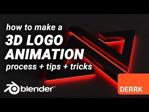 3D Logo Animation In Blender