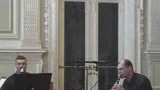 "M. Kibbe ""Shtetl Tanzen"".  Mariinsky Clarinet Club."