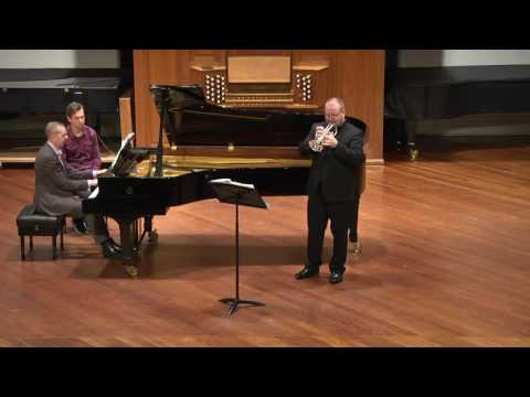 """Arban - Variations on a theme from """"Norma"""". Mark Fitzpatrick - Trumpet, Peter Baker - Piano"""