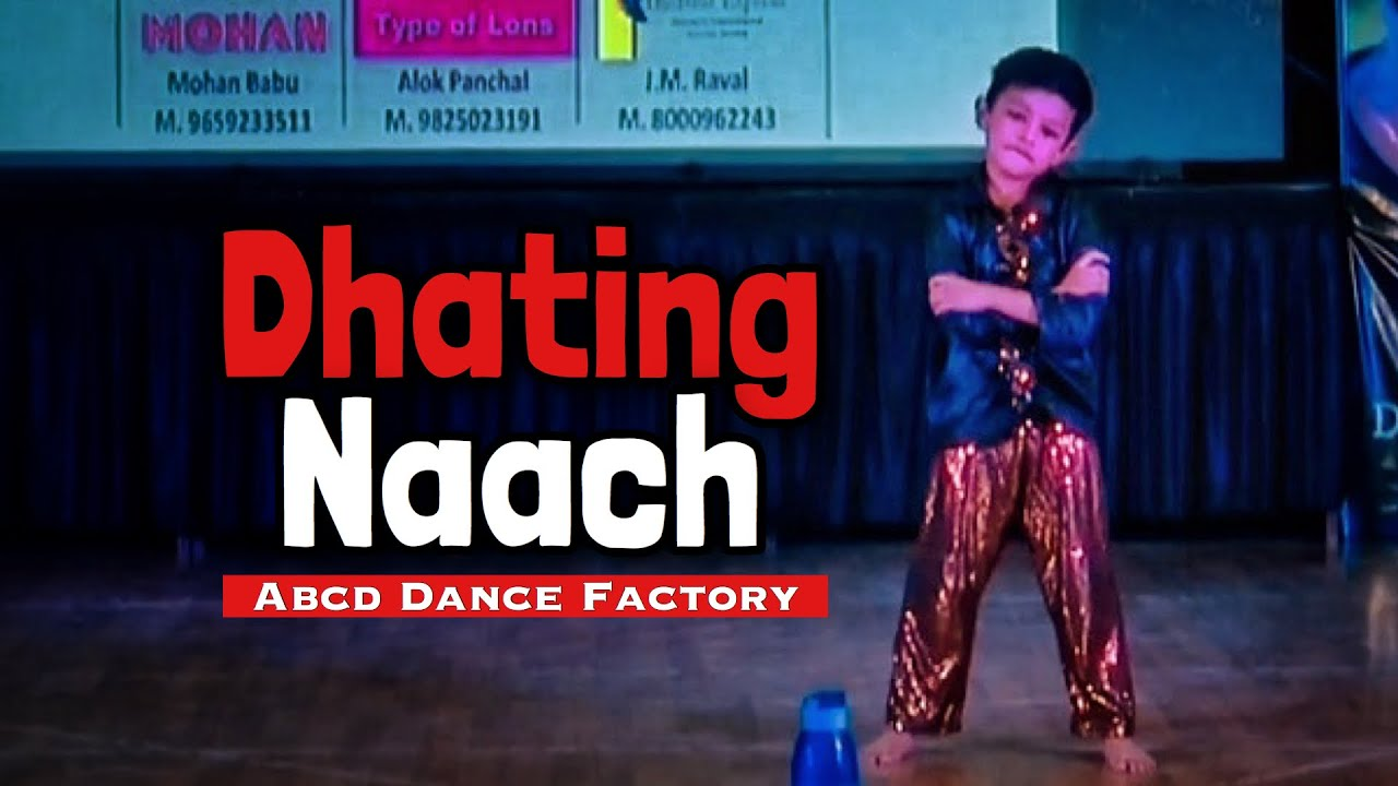 Dhating Naach   Phata Poster Nikhla Hero I Viral   Dance   Choreo  ABCD Dance Factory