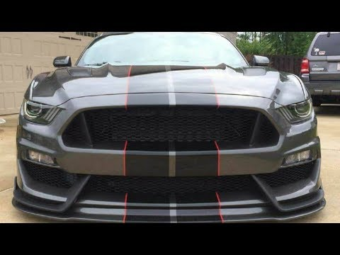 Vlog7 - Anderson Composites GT350 Style Bumper and Fenders for 15-17 Mustang Review - YouTube