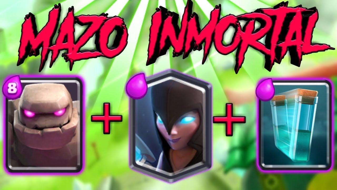Mazo Inmortal De Golem Bruja Nocturna Y Clon Duo Vipp Youtube