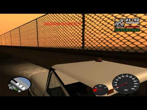 GTA San Andreas : Speedometer und Benzin [MOD] [HD-READY]
