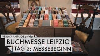 Leipziger Buchmesse - Tag 2: Messebeginn