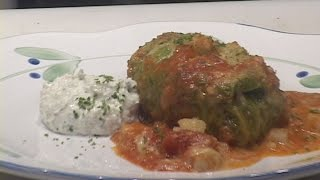 Stuffed Cabbage With Corned Beef