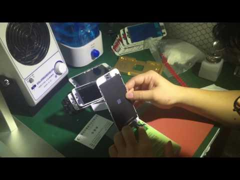 Amazing!!!  Glass +frame+oca+Polarizer for iphone 6 6s 6p 6sp to refurbish lcd