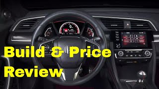2019 Honda Civic Si Sedan (6MT, HFP) - Build & Price Review: Gallery, Colors, Interior, Features