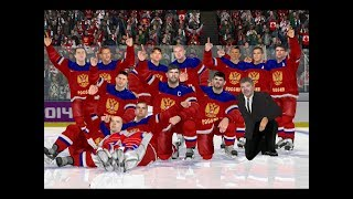 NHL 2004 Rebuilt 2018 PC. Финал Олимпиады по хоккею. Россия - Канада.