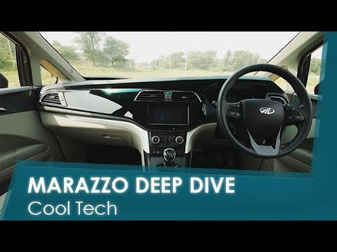 Sponsored: Mahindra Marazzo | Cool Tech |NDTV Carandbike