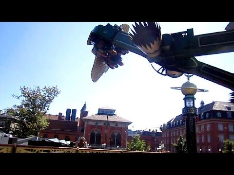 Aquila Air Race on-ride HD POV Tivoli Gardens