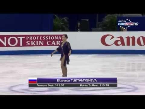 2015 Worlds - Elizaveta Tuktamysheva FS B.ESP