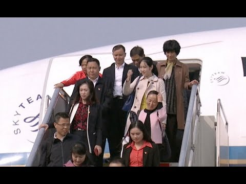 Delegates to CPC National Congress Start Arriving in Beijing