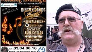 Bikerfreunde Wiesloch Rockn Rolling Freitag 03 06 16 - Samstag gehts weiter