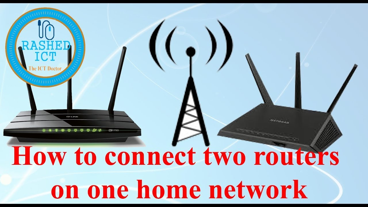Multiple Wireless Routers Home Network Wire Center Authorzj Keyword Voltage Control Oscillator Circuit Fromseekic How To Connect Two Wifi Router By Rashed Ict Youtube Rh Com Setup