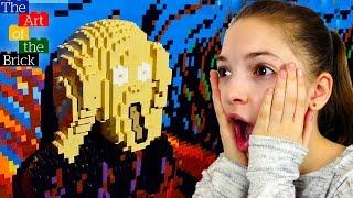 LEGO выставка в Москве! Лего ВЛОГ лучшей подружки Светы👯